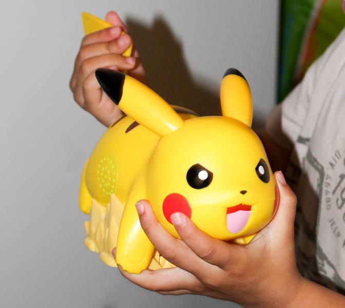 battle ready Pikachu