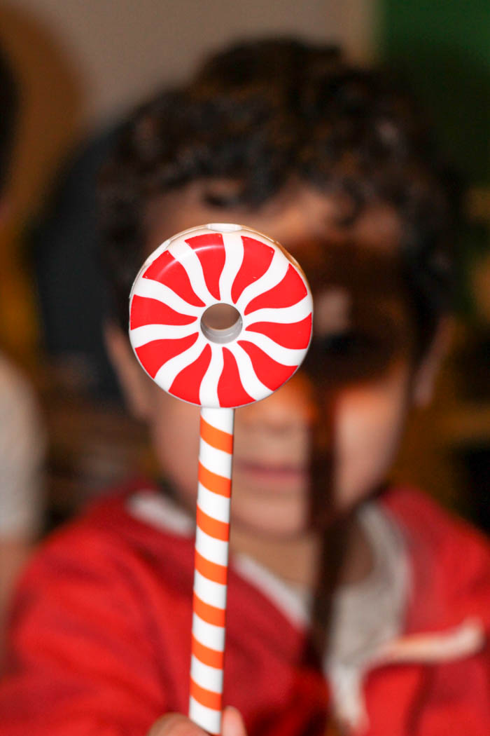 candy construction lollipop