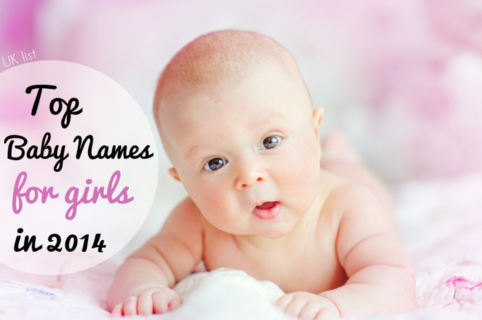 London top baby names for girls 2014