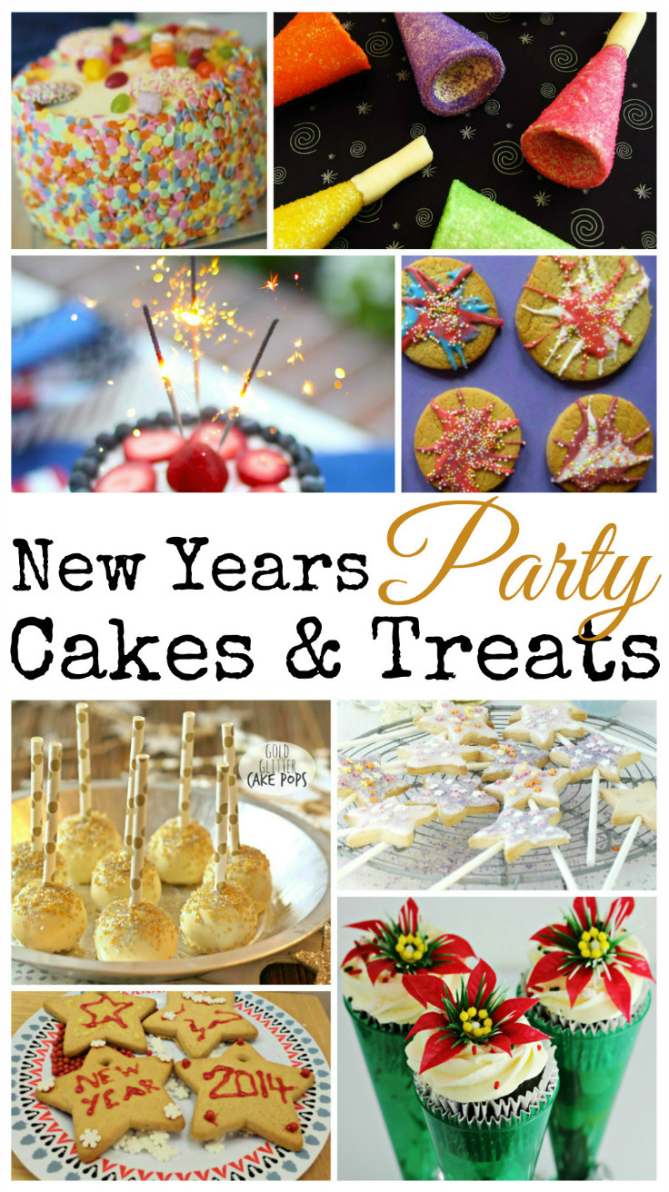 Lots of fun Cake ideas for a new years Eve party