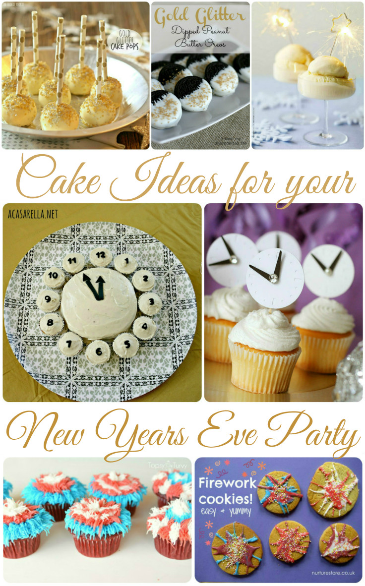 Cake Ideas for a New Years Eve Party - In The Playroom