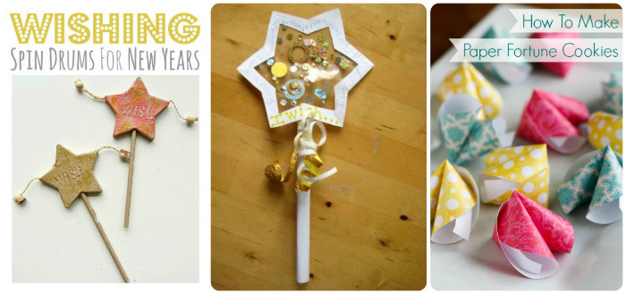 New Year Wishes crafts for kids