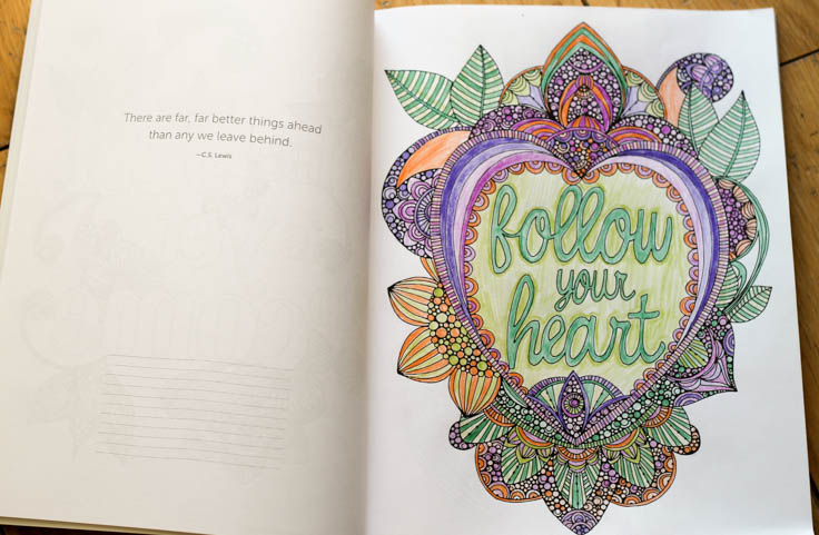 follow your heart colouring page from creative coloring inspirations