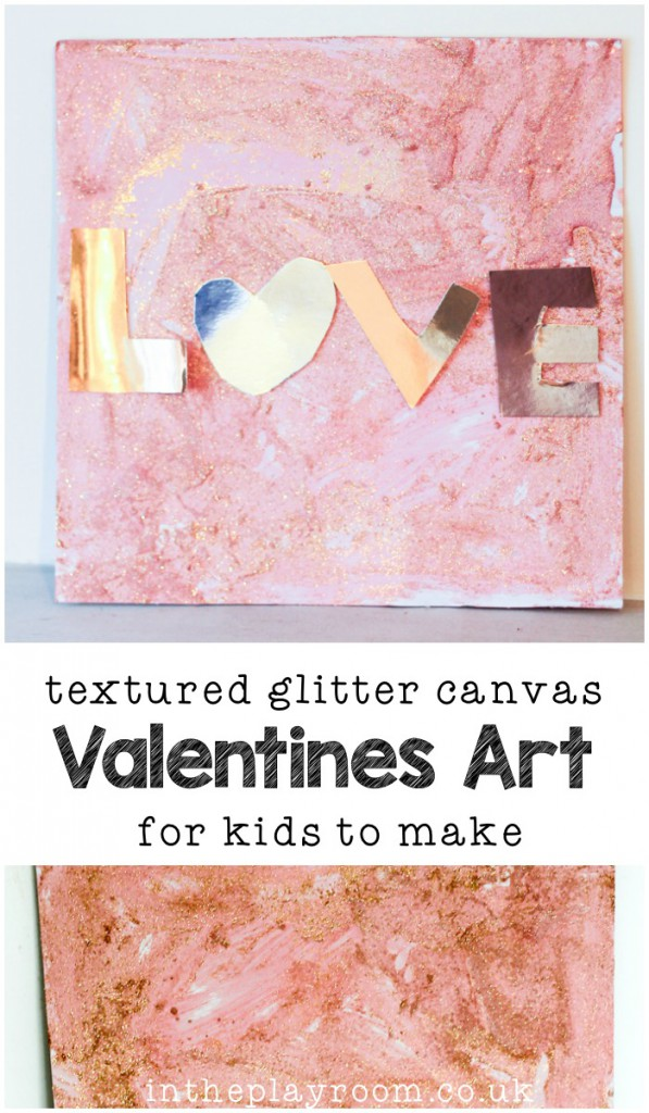 Textured-Glitter-Canvas-Valentines