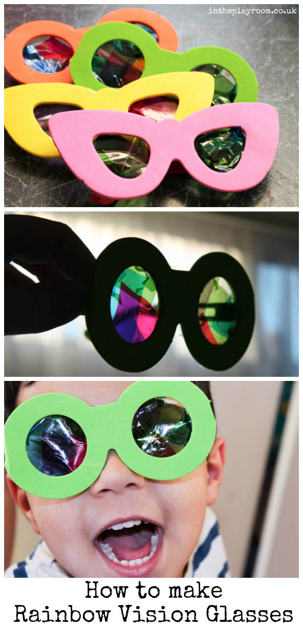 DIY Rainbow Vision Glasses