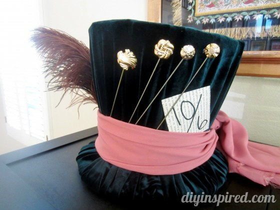 DIY Mad Hatter Hat world book day costume idea