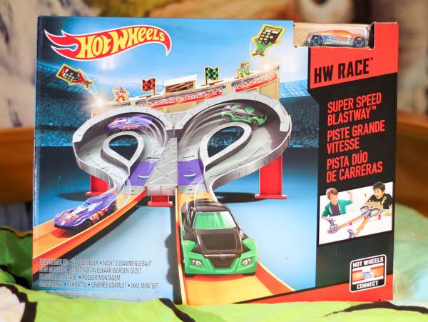 hot wheels super speed blastway trackset box