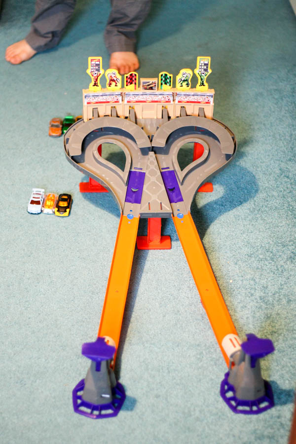 hot wheels super speed blastway trackset