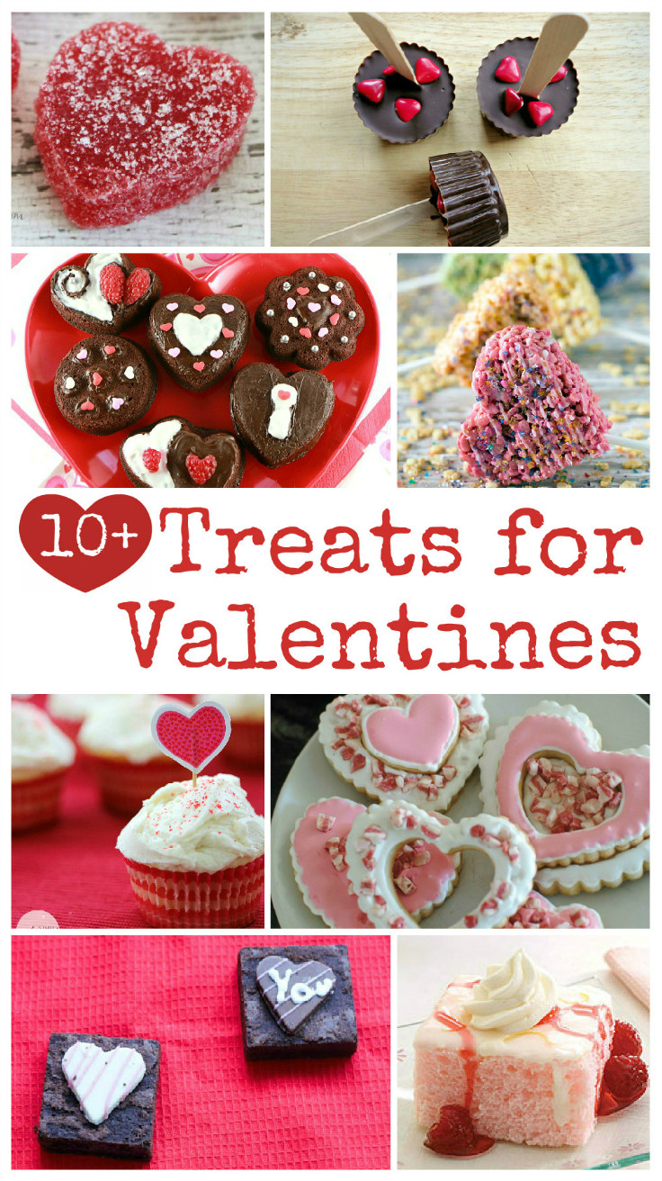 more than 10 delicious treats for Valentines day. Some home made treats and some recommendations for store bought