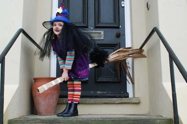 Winnie the witch world book day costume idea