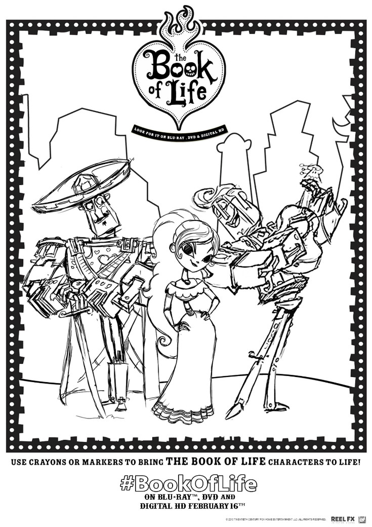 Book of Life Printables and Twitter Viewing Party #