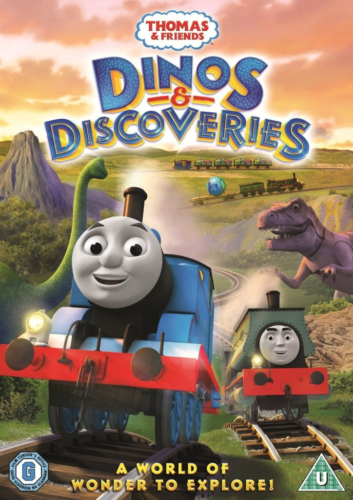 Thomas and friends Dinos and discoveries dvd