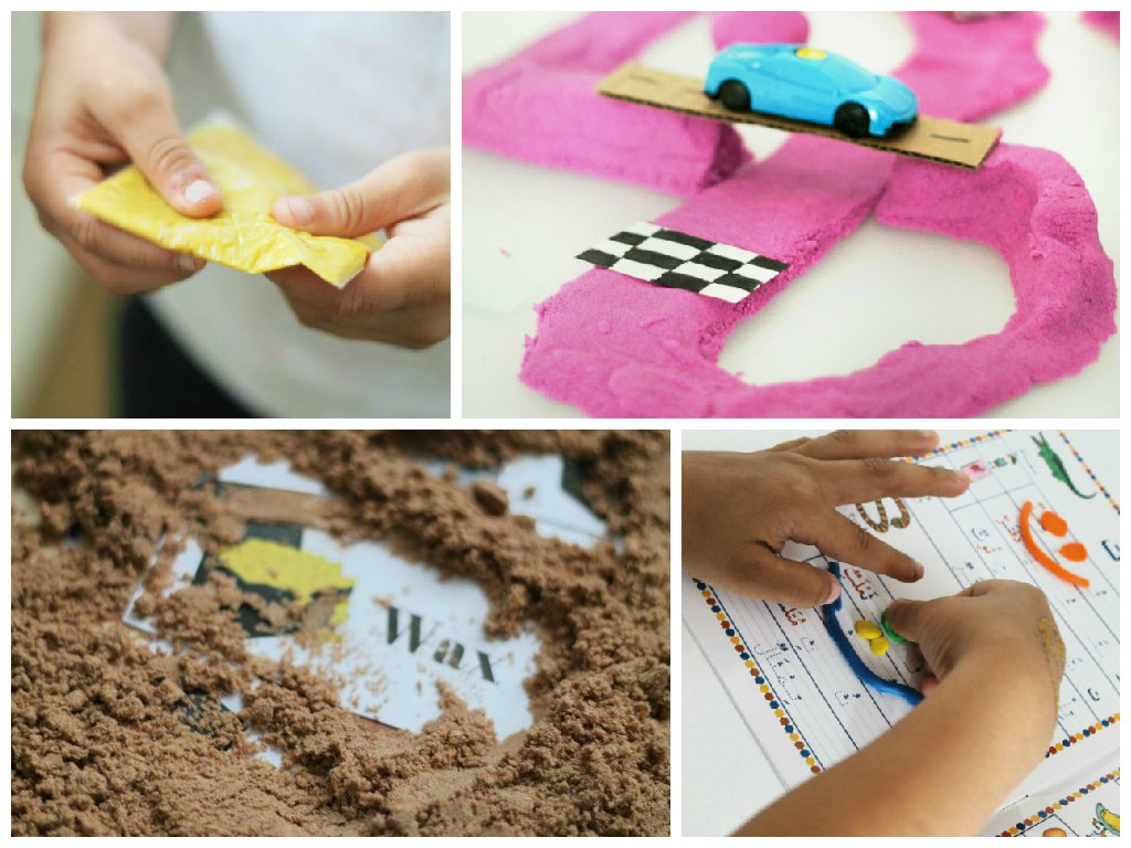 fun playdough activities to do using any simple playdough recipe