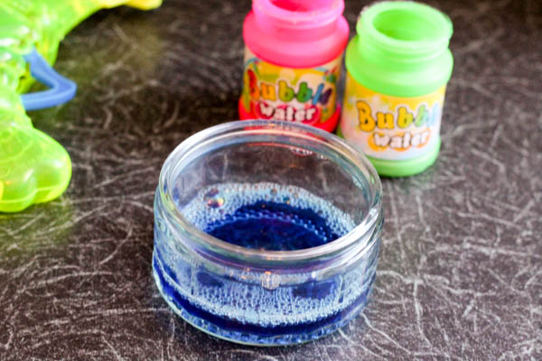 diy bubble paint