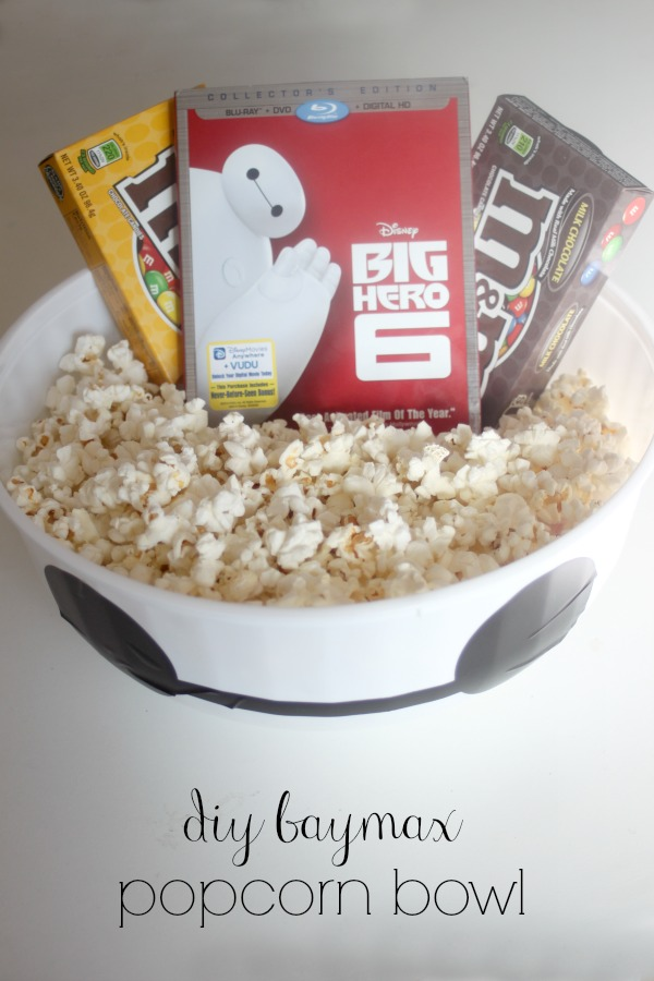 Big Hero 6 Baymax popcorn bucket
