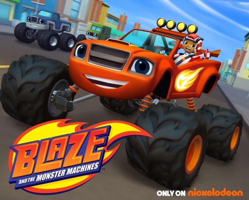 blaze and the monster machines on nick jr