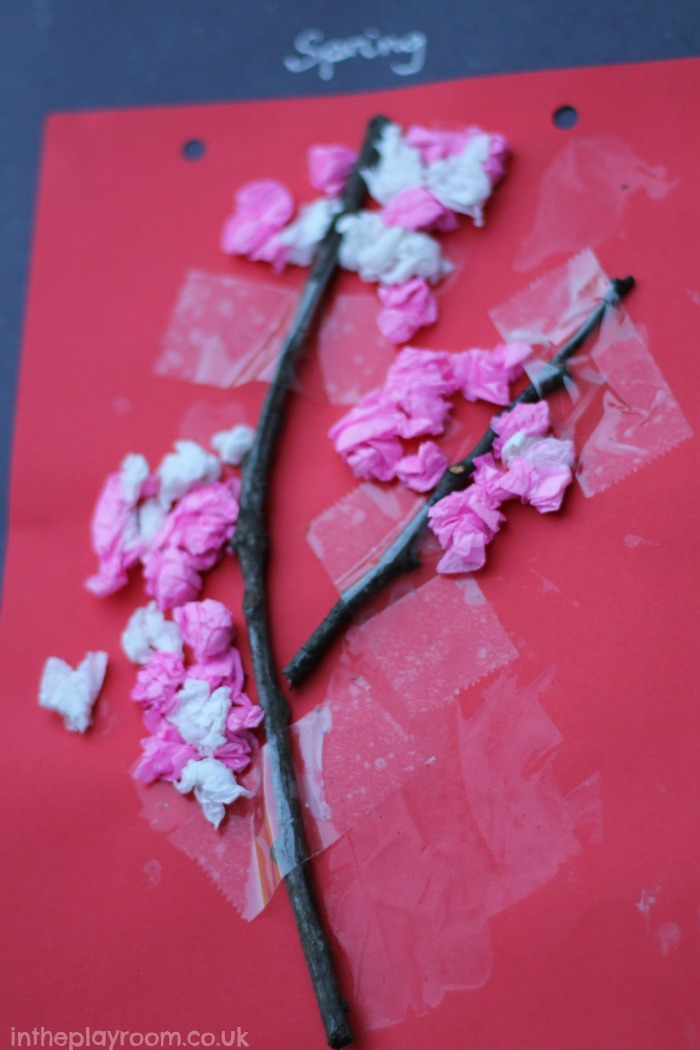 Cherry Blossom Paper Craft