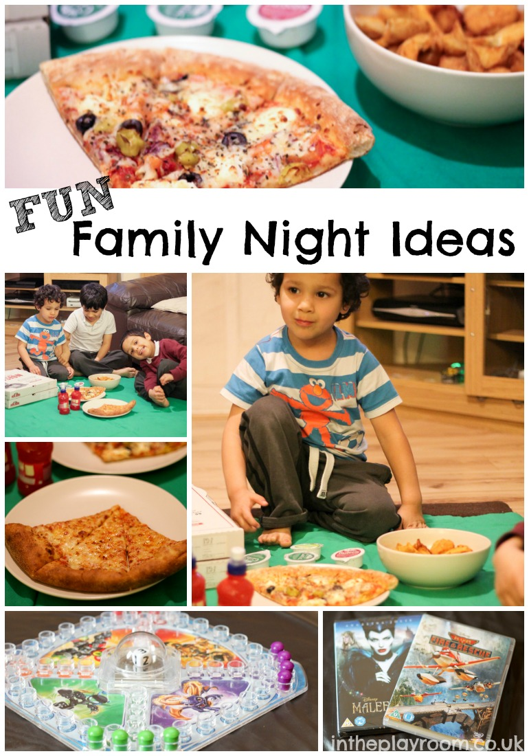 Fun family night ideas