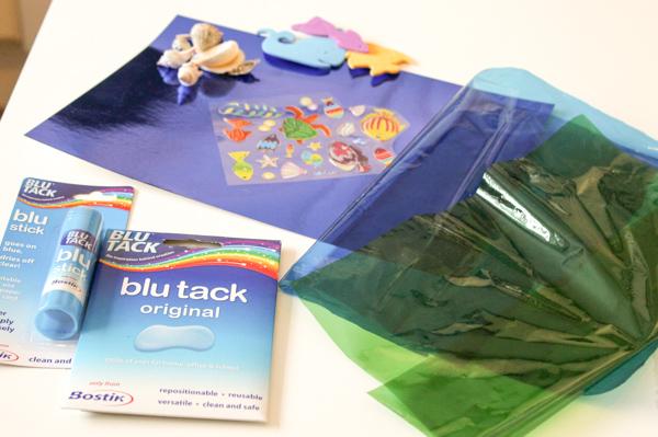 supplies for ocean window art