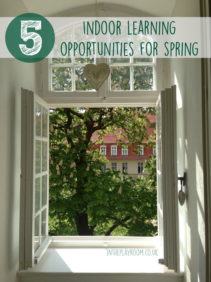 5 Indoor learning opportunities for kids in Spring