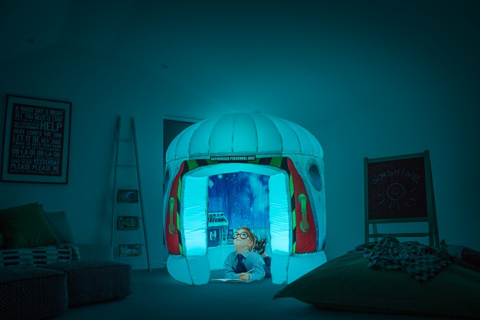 KIDS PODS Galactic Attic Reading area Sensory Space