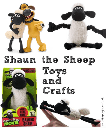 shaun the sheep toys and crafts