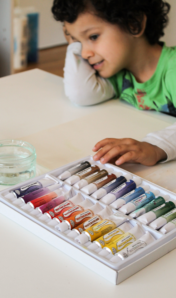 watercolour painting supplies