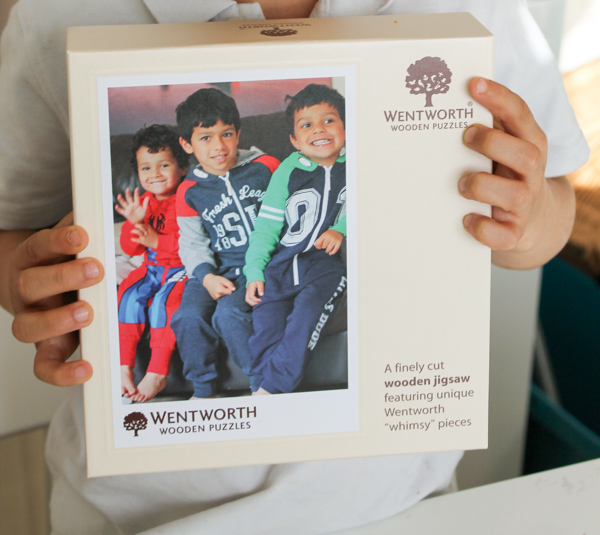 wentworth personalised photo puzzle
