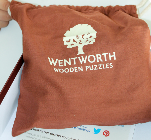 wentworth jigsaw puzzle bag