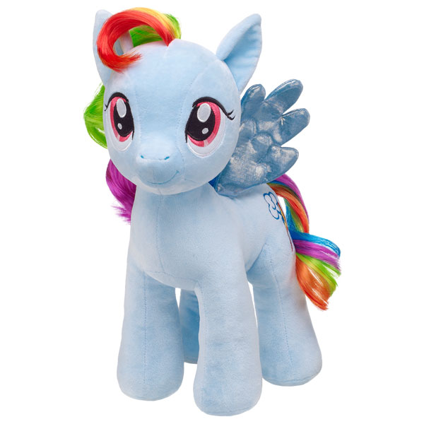 build a bear my little pony rainbow dash