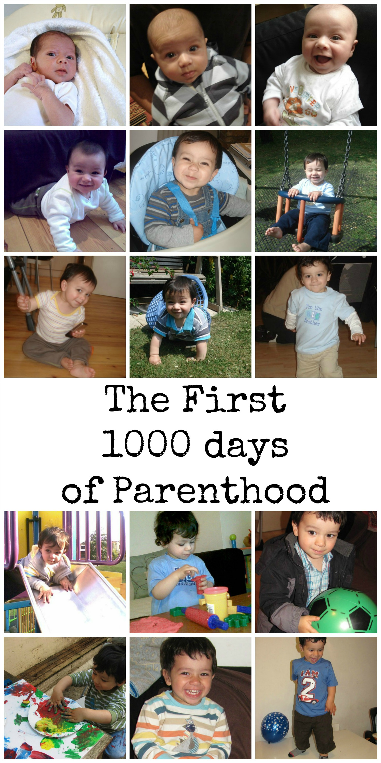 Research into the first 1000 days of parenthood, along with a must-watch touching video about the parenting journey
