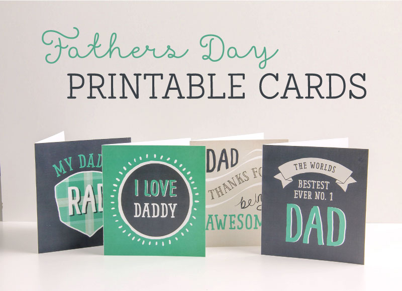 free printable fathers day cards in 4 designs