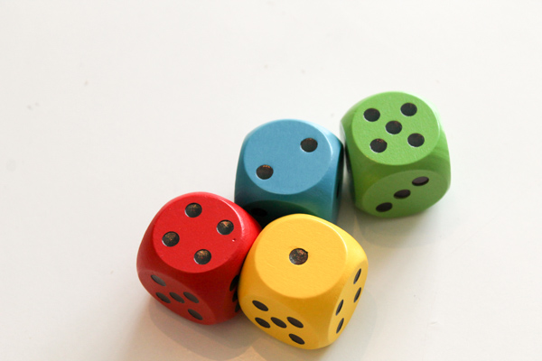 Games to Play with Dice - In The Playroom