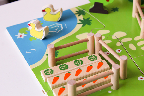 Bigjigs farm play set