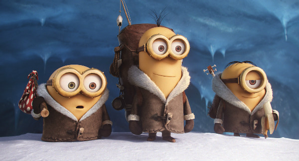 Minions Bob, Kevin and Stuart