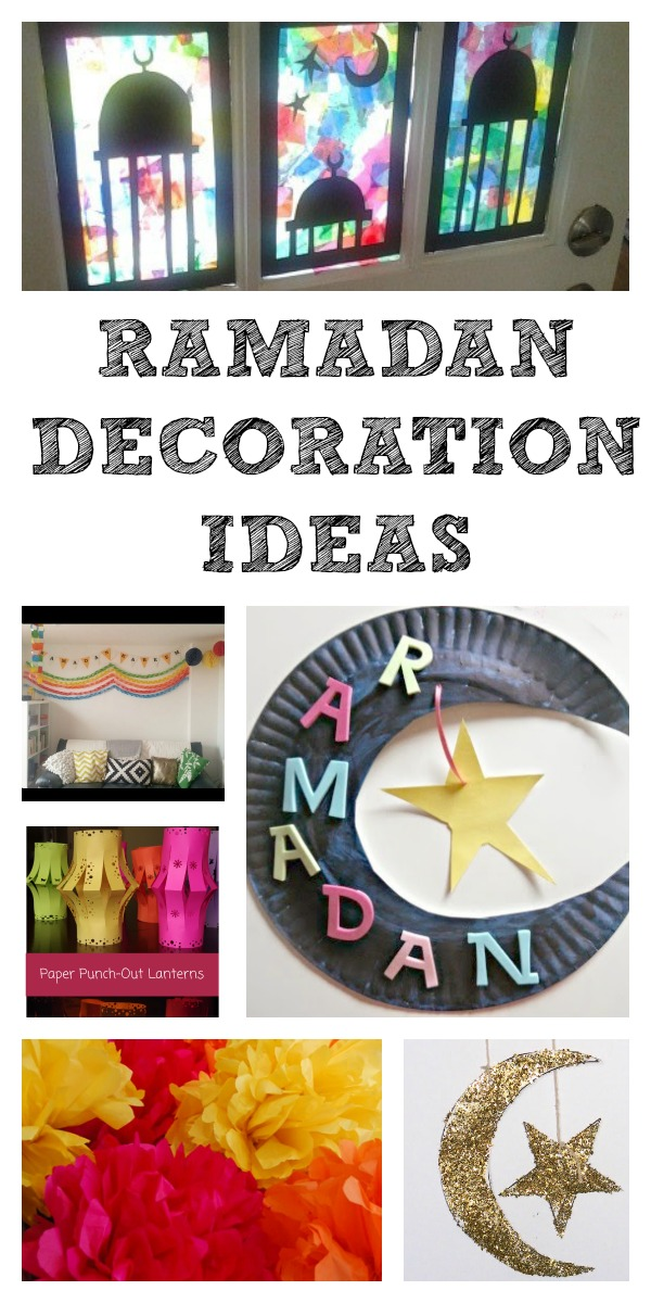 Ramadan Decorations And Calendars In The Playroom