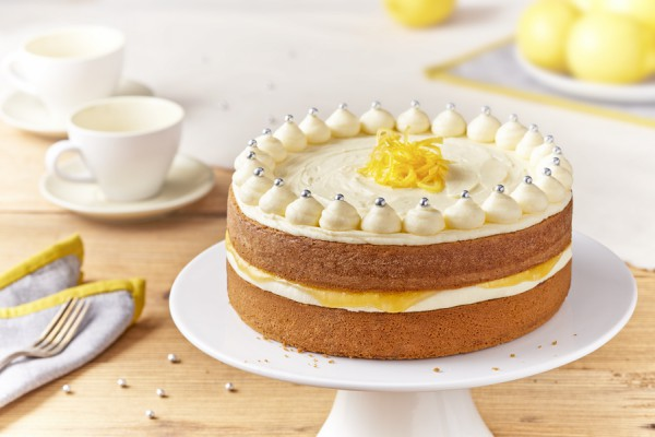 Zesty lemon cake recipe, great celebration cake for parties or birthdays