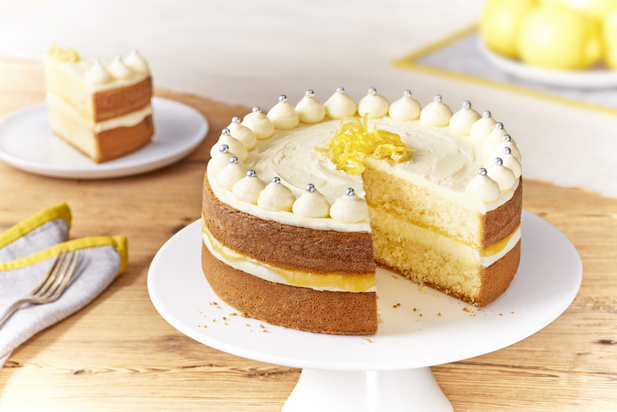 Lemon Peel Cake Decoration