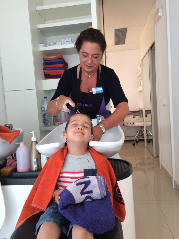 camping cypsela hairdressers