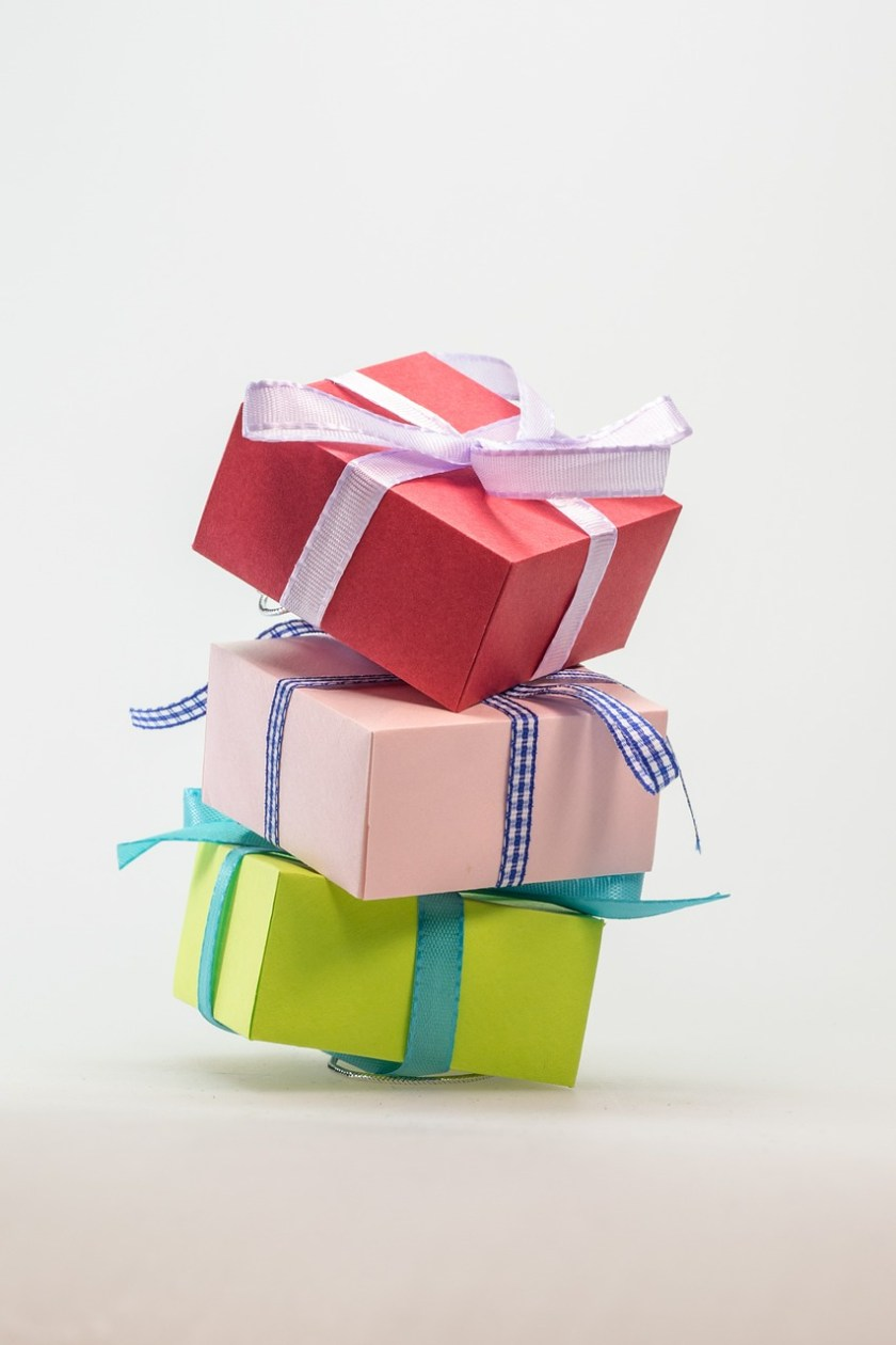 hinting and begging for gifts
