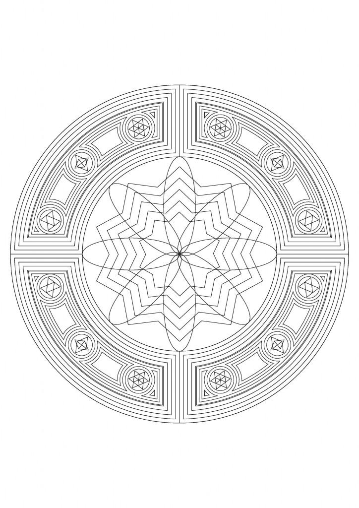 mandala coloring-page-003