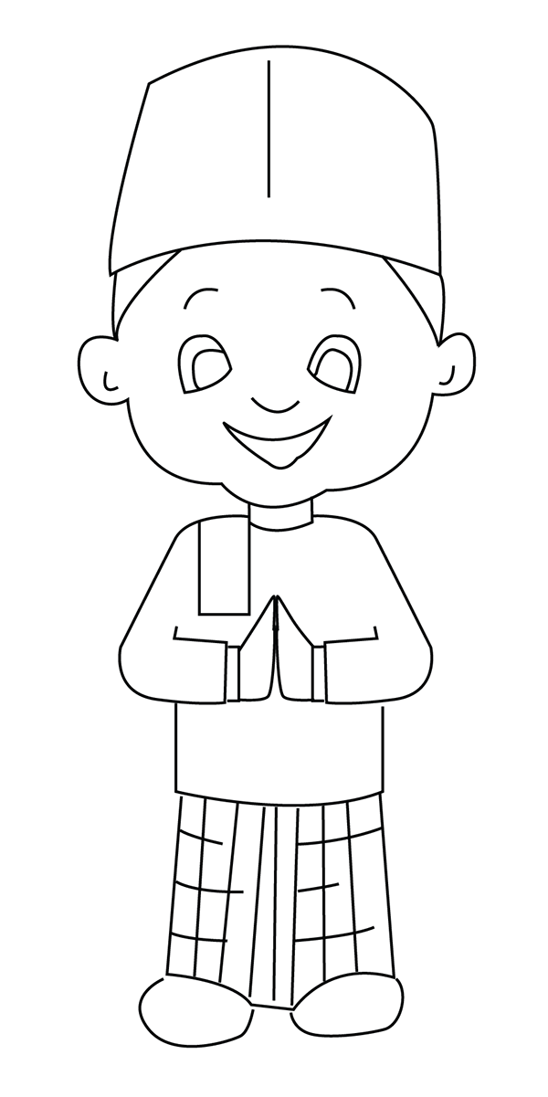 Printable Islamic Coloring Pages - Get Coloring Pages | 1201x600