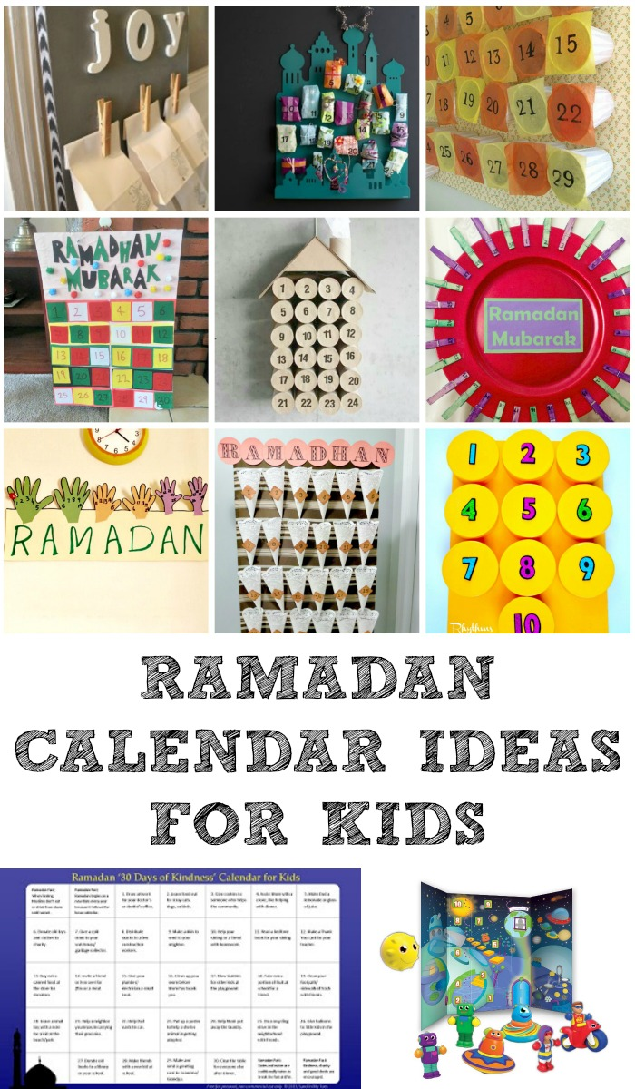 Calendar Craft Ideas Ks : Ramadan decorations and calendars in the playroom