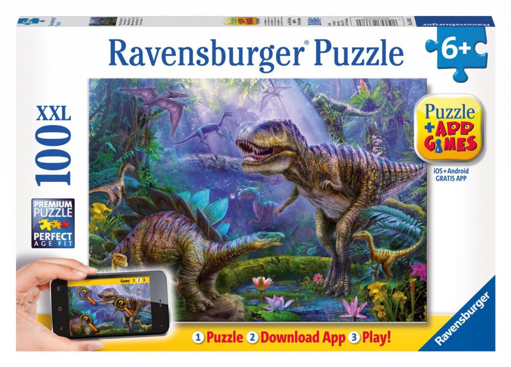 ravensburger dinosaur puzzle with app