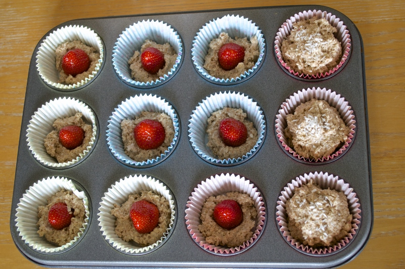strawberry muffin method