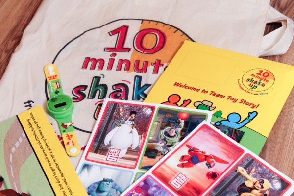 free change4life and disney 10 minute shake up pack
