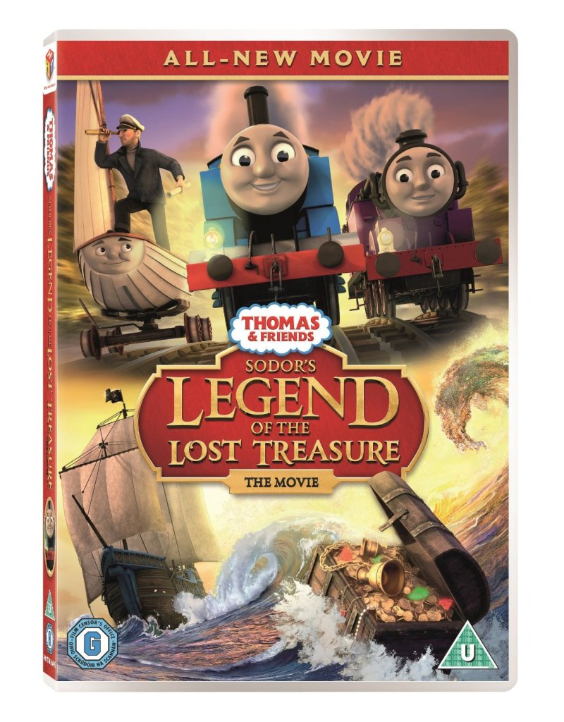 Thomas & Friends Sodo's legend of the lost treasure