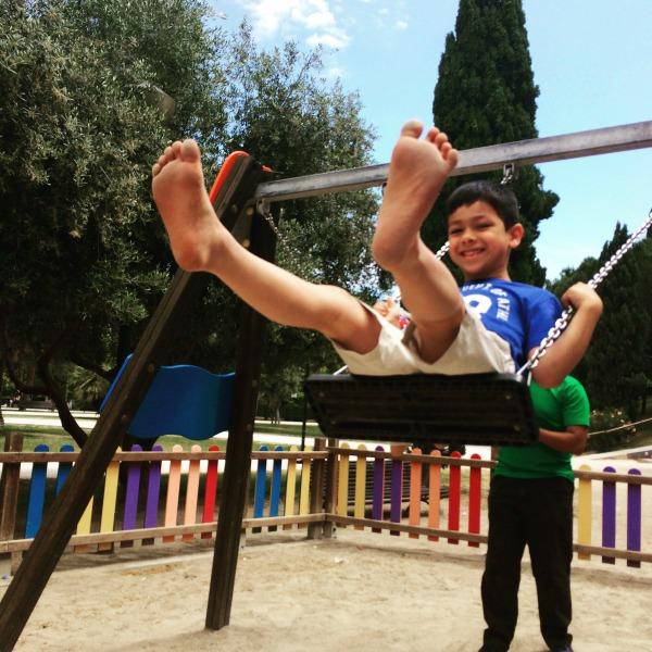 aljafaria castle playground