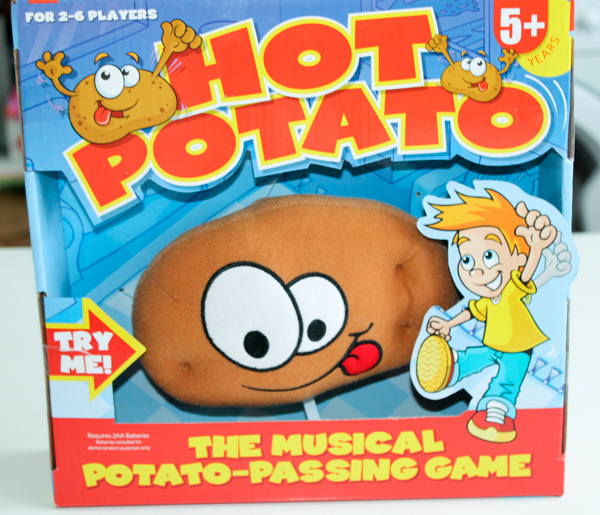 hot potato game Paul Lamond