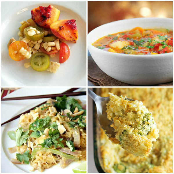 colourful vegetarian recipes